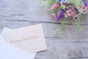 誕生日birthdaycard